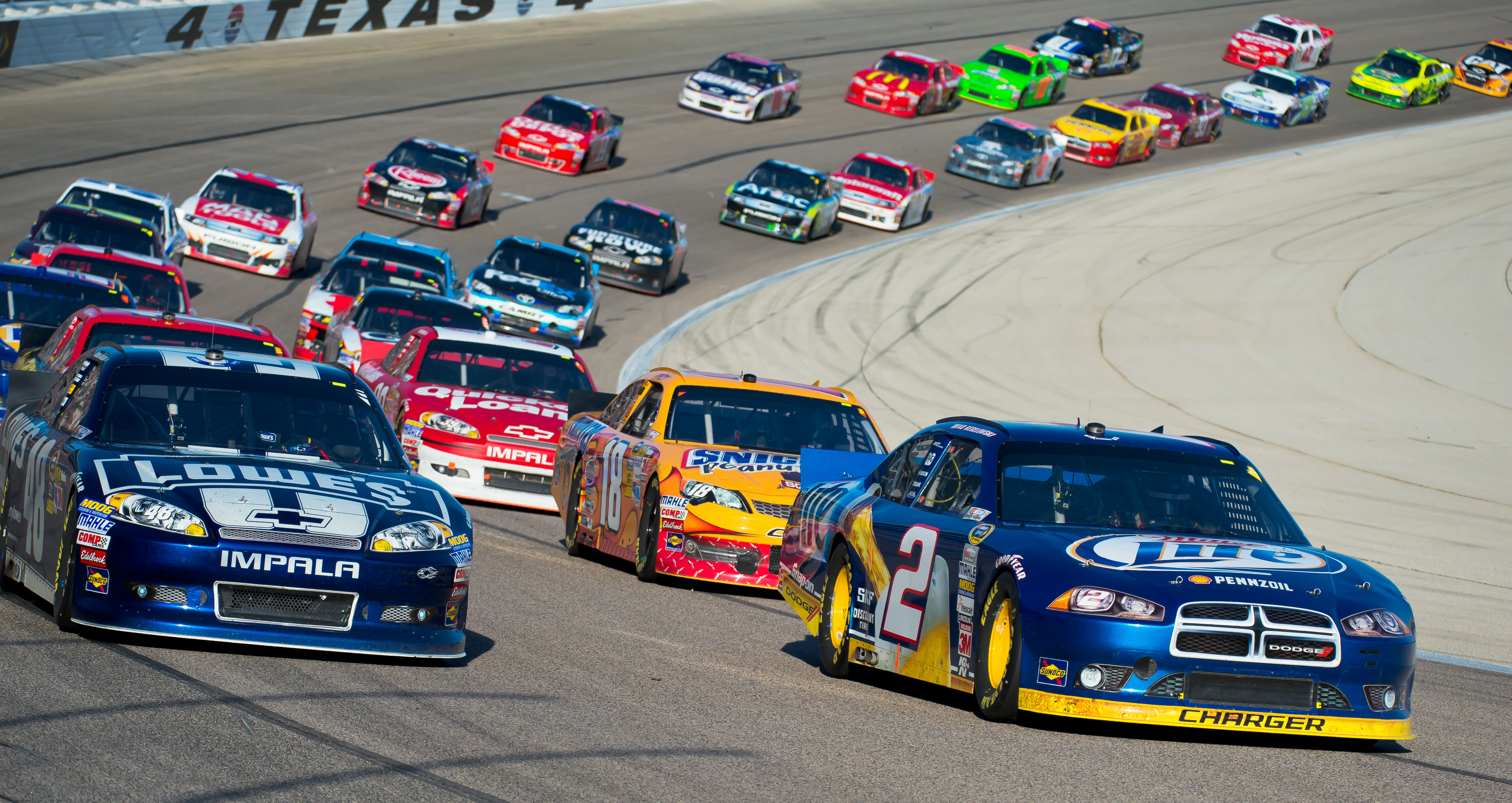 Two-way Radios used in NASCAR | Highland Wireless Services