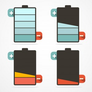 battery life illustration