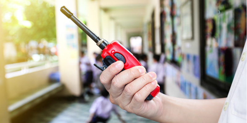 A Look at Two-Way Radios for Schools